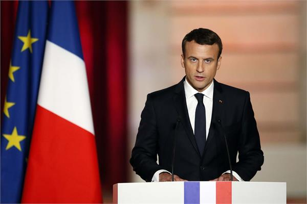 macron expresses concern over iran s decision