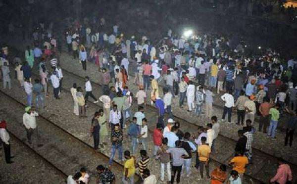 amritsar train accident punjab government to provide jobs to the family members