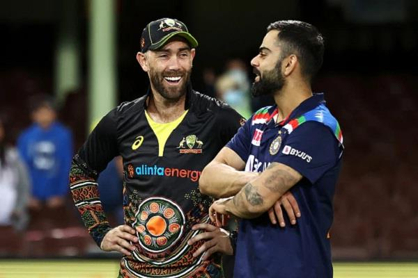 maxwell is eager to learn from kohli