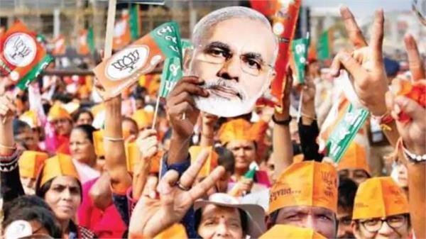 bjp wins in gujarat and aap wins in delhi