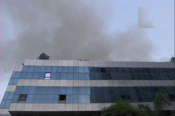 mumbai hospital fire covid 19 10 patients death