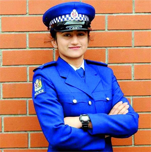 ramandeep kaur new zealand police department first indian woman recruitment