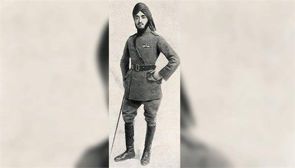 sikh fighter pilot  memorial  uk  honour  indians   fought world wars