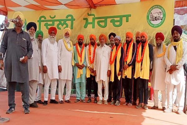 tikri border jail farmers release honors