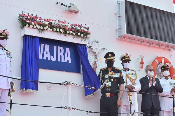indian coast guard ship chennai port trust