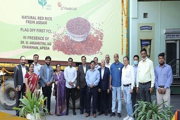assam s red rice will now be part of the american plate