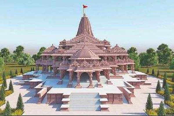 ram temple construction expenses 2100 crore donation