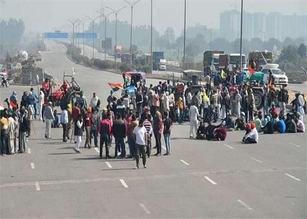 farmers protest 100th day block kmp expressway today
