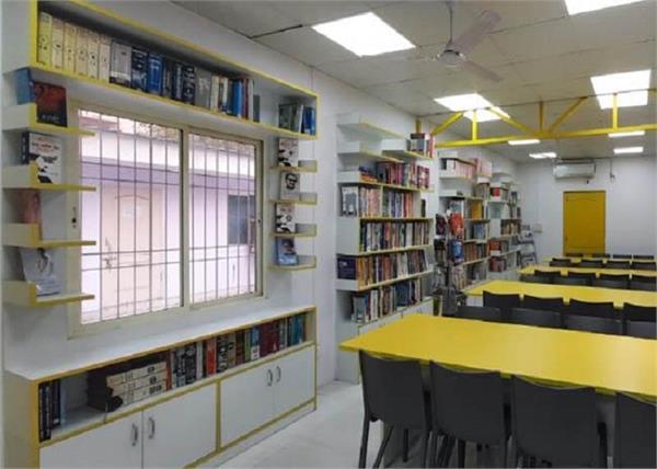 delhi  public library in police station