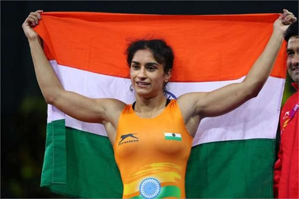 vinesh phogat  wrestling  won   gold medal