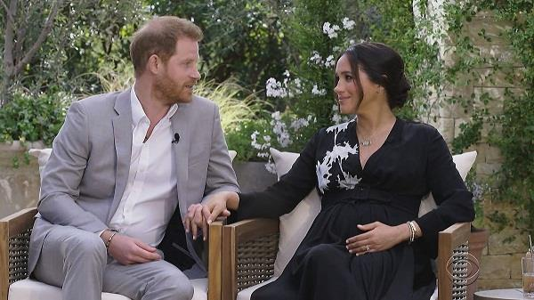 prince harry and megan merkel  interview