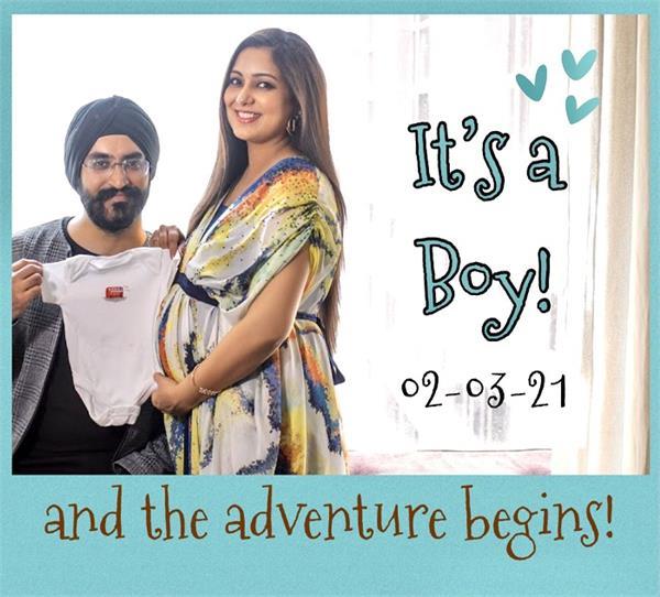 harshdeep kaur welcomes baby boy