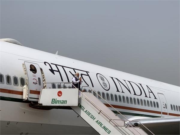 narendra modi bangladesh visit air india one aircraft vvip aircraft