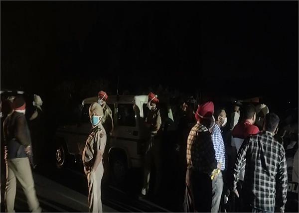 service lane blood corpse murder jalandhar