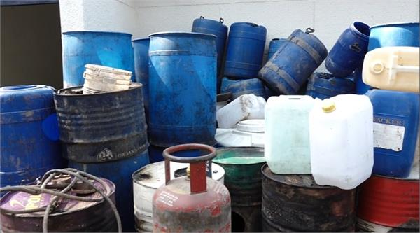 toxic alcohol  excise  operation  alcohol recovery