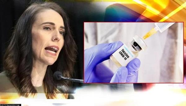 jacinda ardern  pfizer vaccine