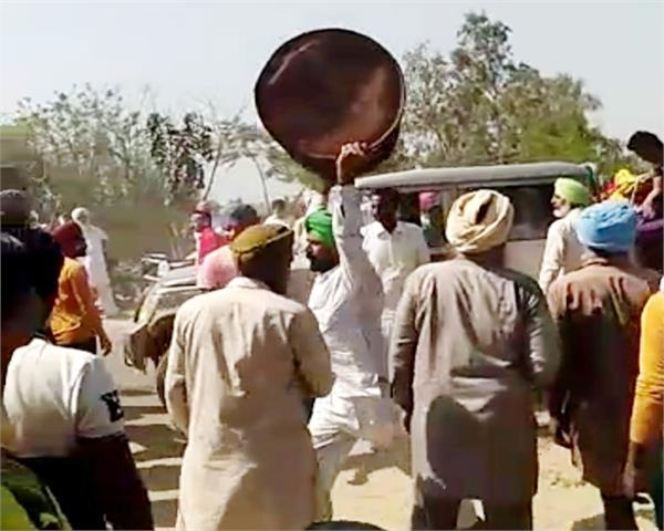 police team  attack  akali leaders