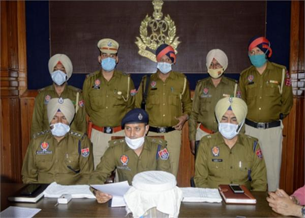 robbery gang  arrested  police  firozpur
