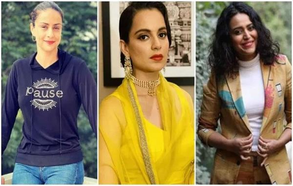 farmers protest   kangana ranaut and gul panag
