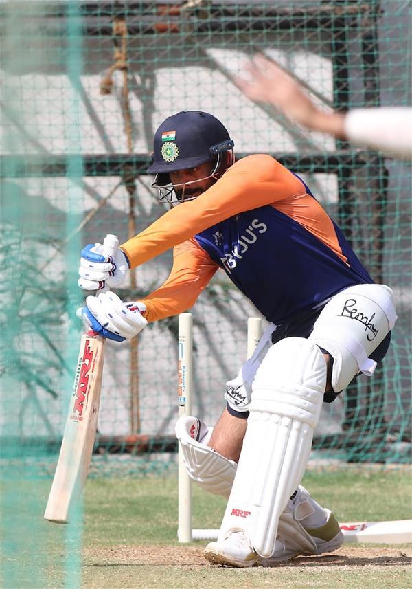 last test  indian team  practice