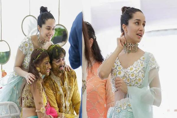 shardha kapoor  s pictures from her brother  s wedding viral