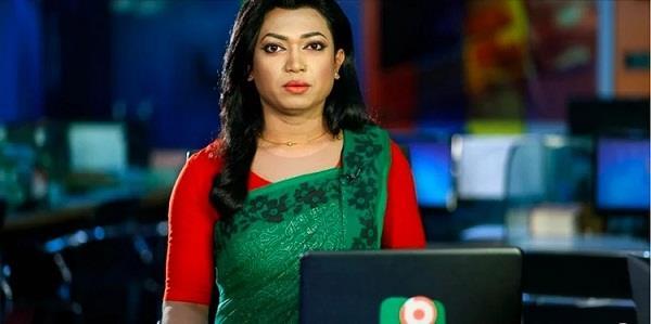 bangladesh  transgender news anchor