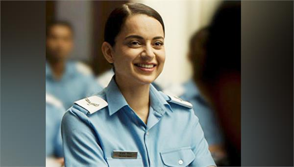 the first look of actress kangana  s film   tejas   came out