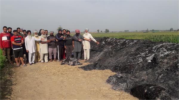 farmers  potatoes  fire
