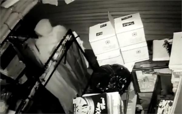 pathankot 11 shops cash theft