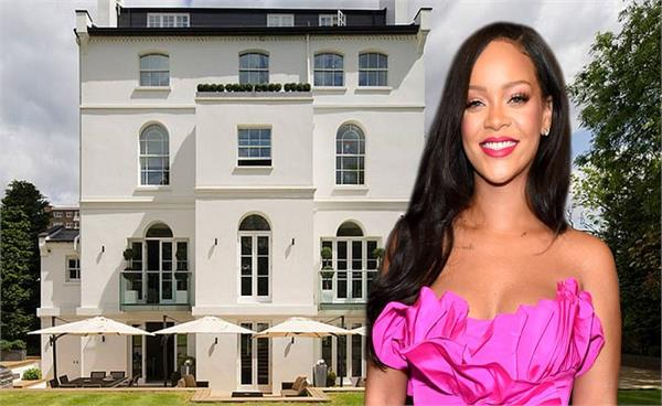 inside pics of pop star rihanna  s multi million dollar home in london