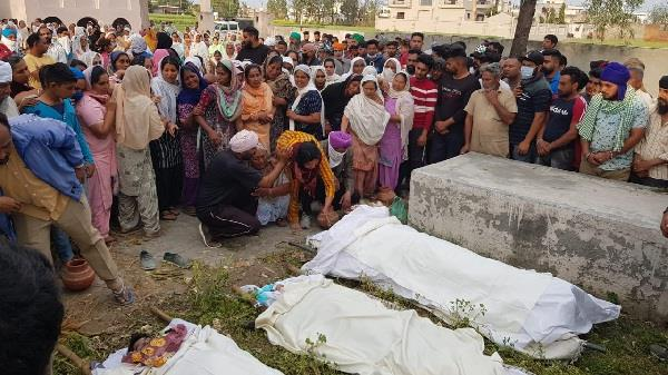 funeral of a person who committed suicide including children