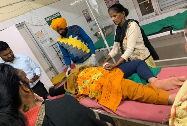 activa women killed in road accident near khuda