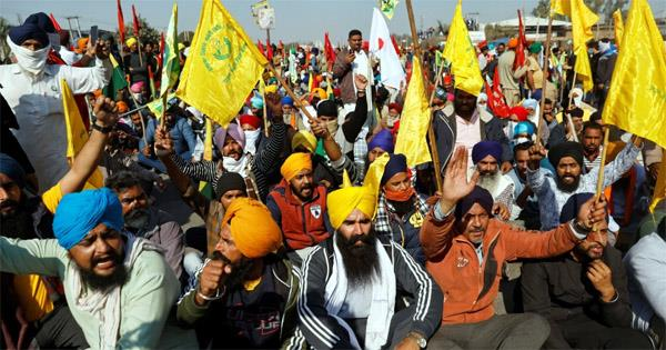 read today  s top five news related to the farmers protest