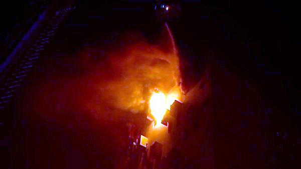 fierce fire in multi story building in kolkata