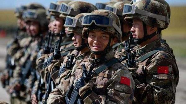 china is the fourth most powerful army in the world  followed by india