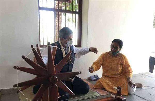 bangladesh high commissioner visits gujarat ahead of pm modi  s visit to dhaka