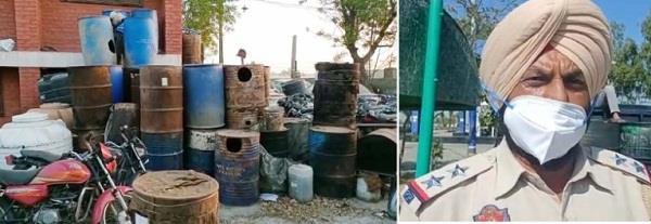 excise department raids mahalam  destroys 5 000 liters