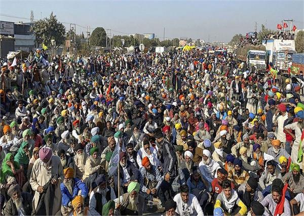 kissan protest against centre government