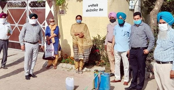 5 members of the same family found corona positive in budhatheh