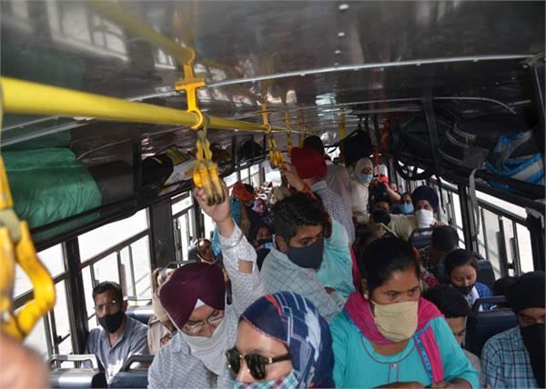 manthan on lockdown in delhi  bus situation out of control in punjab