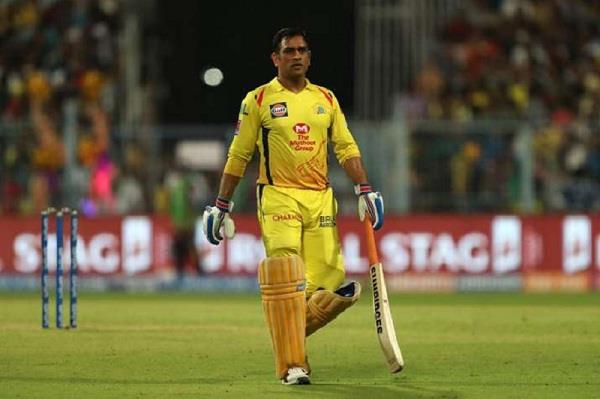 dhoni makes history  scores   double hundred   by chennai