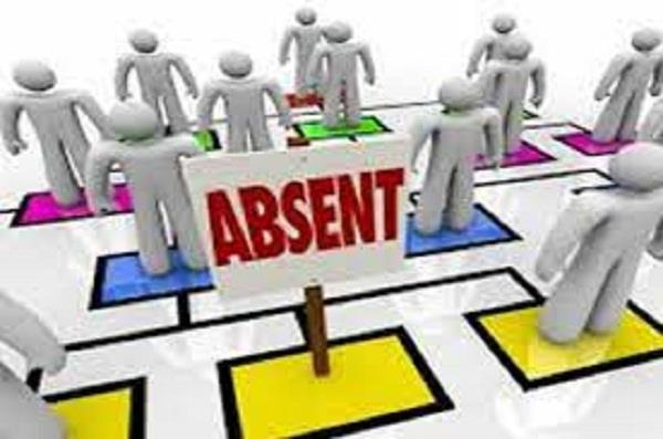action against absent employees should be expedited