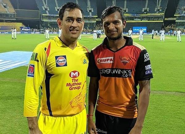 natarajan revealed dhoni s advice benefited from bowling