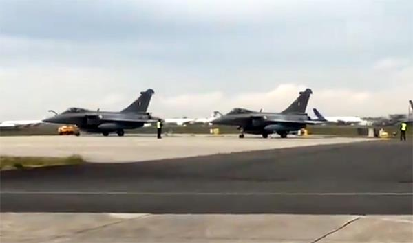 5th consignment of rafale fighter aircraft reached india