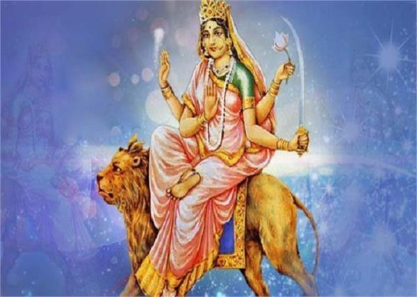 chaitra navratri 2021  maa katyayani