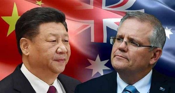 australia  major action  china