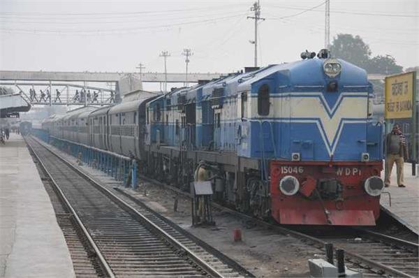 amritsar delhi shatabdi back on tracks