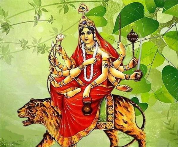chaitra navratri 2021 third day mata chandarghanta ji puja