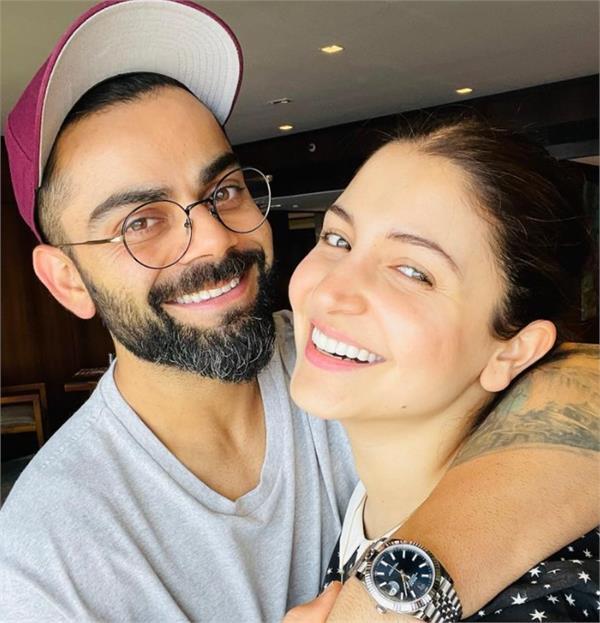 anushka sharma virat kohli romantic picture viral
