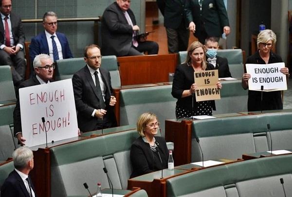 australia  women mps  disclosure